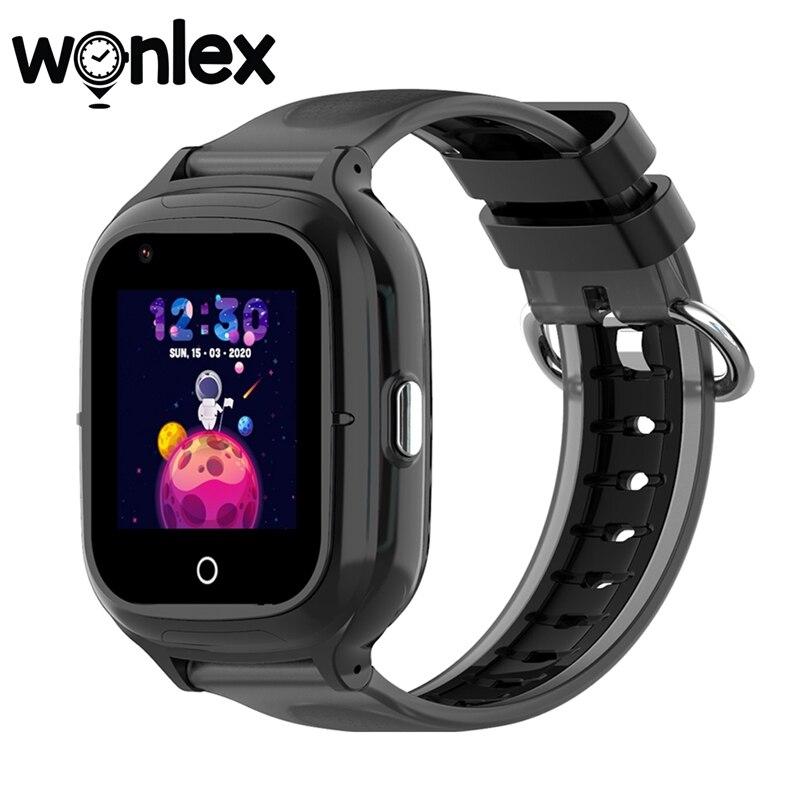 Wonlex KT23 Smart-Watches Anti-lost GPS-Tracker SOS-Monitor 4G Kids IP67 Waterproof Telephone Baby Video Call Watch Camera Clock